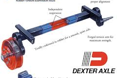 5. Dexter Torflex Axles