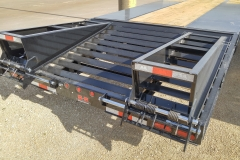 (2) 6' self cleaning angle iron ramps (Standard 40-50K tags)